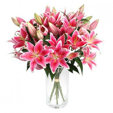 Букет «Розовые веснушки»